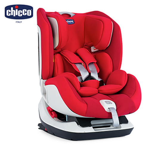Chicco Seat Up 012 Isofix安全汽座-自信紅